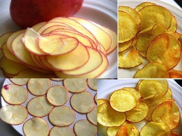 Как сделать чипсы из теста рецепт 86
