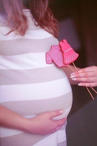 Беременная без лица на аву